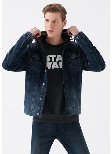 Mavi Brandon Vintage Kapüşonlu Jean Ceket İndigo